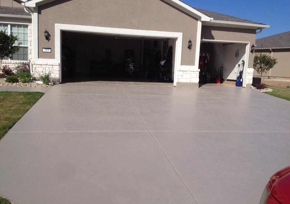 Care Sheet for Concrete Coatings