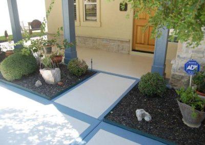 residential-acrylic-concrete-coating-design-walkway-blue